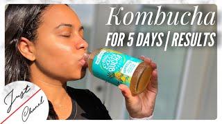 KOMBUCHA For 5 Days & This Happened