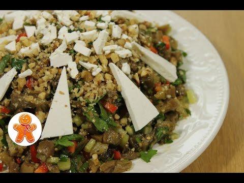 Салат с баклажанами по-гречески