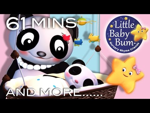 Rock A Bye Baby | Plus Lots More Nursery Rhymes | 61 Minutes Compilation from LittleBabyBum!