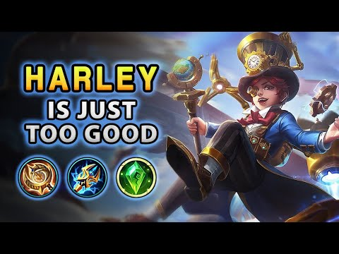 Wow! Harley's Damage Is Just Insane | Mobile Legends