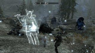 The Elder Scrolls V: Skyrim. Вызов Карстаага / Summoning Karstaag. Прохождение от SAFa