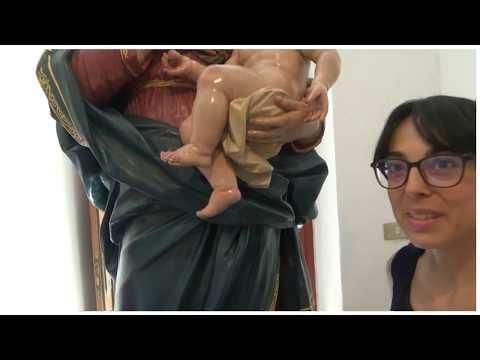 Restauro Statua Madonna Delle Grazie - Alia 27 Giugno 2019 - P02/02