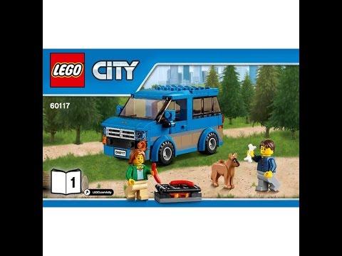 LEGO® City Great Vehicles 60117 Фургон и дом на колёсах. Инструкция по сборке