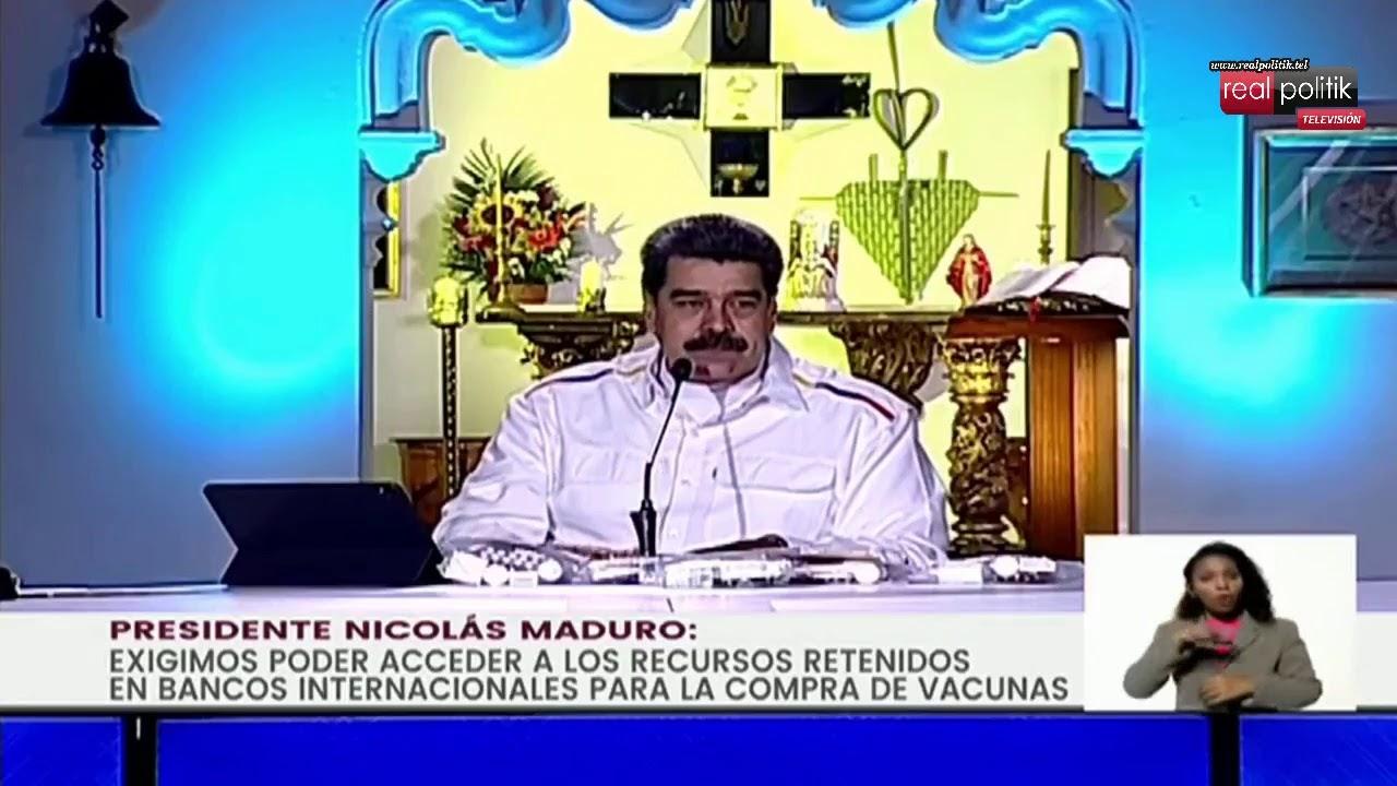 Venezuela: Nicolás Maduro ofrece petróleo a cambio de vacunas