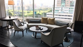 Waldorf Astoria Bangkok King Corner Suite 717