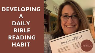 Developing a Daily Bible Reading Habit