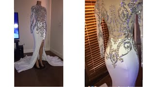 How To Make A Multipanel Mermaid Prom Dress Part 2