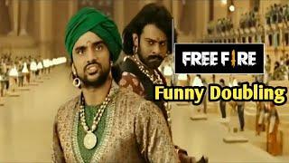 Free Fire:- Bahubali Movie Funny Dubbing Video