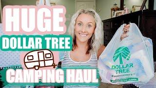 HUGE DOLLAR TREE HAUL 2020-DOLLAR TREE CAMPING ESSENTIALS-CAMPER ORGANIZATION