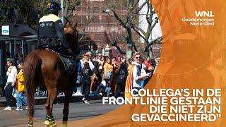 Politie grijpt in op Koningsdag: 'Discipline in grote steden ver te zoeken'