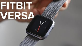 Fitbit Versa is the Apple Watch's strongest competition