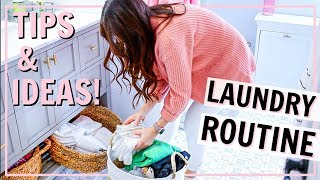 HOW I DO LAUNDRY! MY MOTIVATING LAUNDRY ROUTINE | Alexandra Beuter