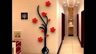 Как можно украсить стену в комнате по новому