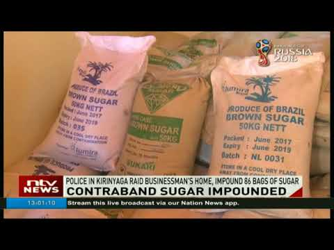 Suspected contraband sugar nabbed after police raid in Kapendoso village
