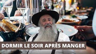 DORMIR LE SOIR APRÈS MANGER
