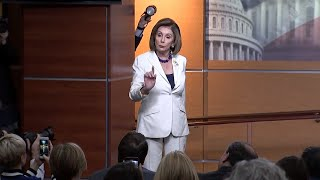 House Speaker Nancy Pelosi to reporter: 'Don't mess with me'