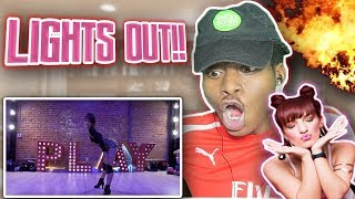 "I'M LOST FOR WORDS!! 🔥😍 Chris Brown - ""Lights Out"" 