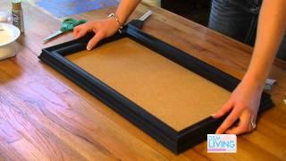 DIY Cork Board - DSM Living