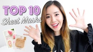 Top 10 Korean Sheet Masks: The One-Night Stands of Skincare!