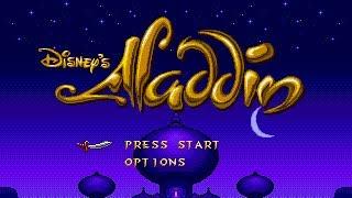 [Full GamePlay] Aladdin (Difficult Mode) [Sega Megadrive/Genesis]