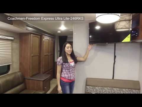 2019 Coachmen Freedom Express Ultra-Lite 246RKS Rear Kitchen at Campers RV Center, Shreveport, LA 71129