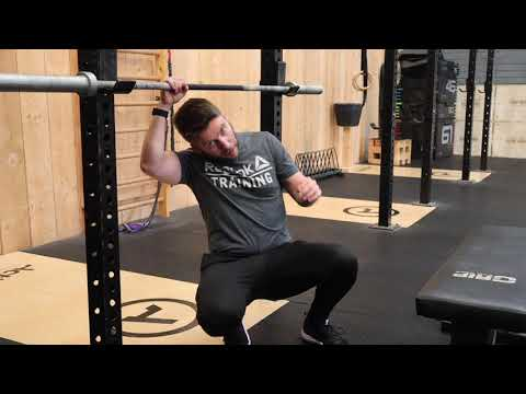 Inverted Barbell Row