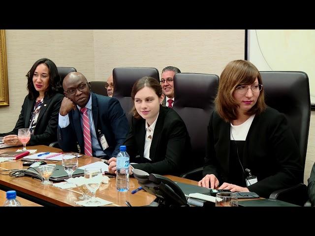 Banco Central y Hacienda se reúnen con misión del FMI