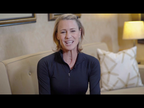Robin Wright Storybook Gala Welcome