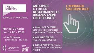 Youtube: Skills Journey   ANTICIPARE IL FUTURO DESIDERATO NELLE ORGANIZZAZIONI E NEL BUSINESS