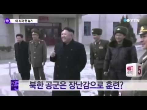 朝鮮軍事演習竟然用呢啲?