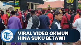 Viral Video Oknum Diduga Hina Suku Betawi, Ormas Melaporkan Penghinaan ke Polrestro Bekasi Kota