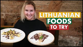 Lithuanian Foods To Try