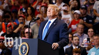 Trump holds rally in Ohio
