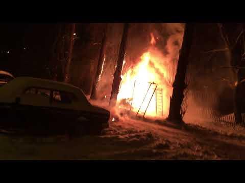 Взрыв автомобиля в Воронеже