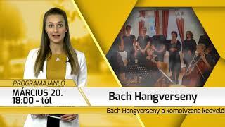 Programajánló / TV Szentendre / 2020.03.11.