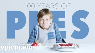 Kids Try 100 Years of Pies