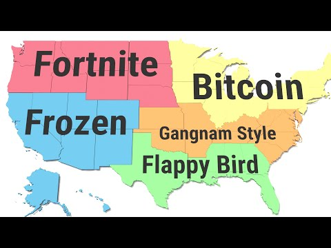 The Most Googled Things By State From 2010 To