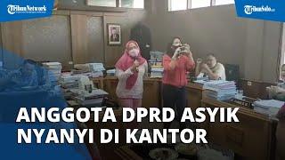 Viral Video Anggota DPRD Solo Nyanyi-nyanyi di Kantor saat PPKM, Wakil Ketua DPRD Minta Maaf