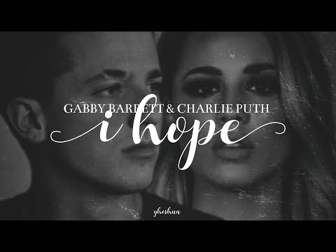 Gabby Barrett & Charlie Puth - I Hope (Lyrics)