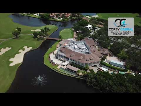 Bay Colony Golf Real Estate Naples Florida video fly over