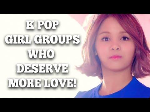 K Pop Girl Groups Who Deserve More Love!