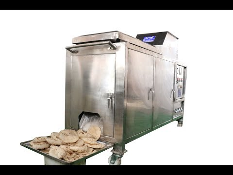 Industrial Automatic Chapati Making Machine