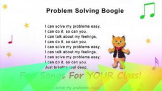 Problem Solving Boogie Song Preschool Fun Learning Music