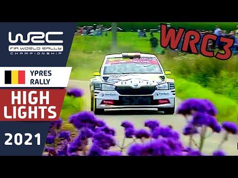 WRC3 2021 WRC第8戦 ラリー・ベルギー WRC2クラスのDay1ハイライト動画