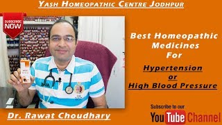 Best Homeopathic Medicines for High Blood Pressure | Yash Homeopathic Centre