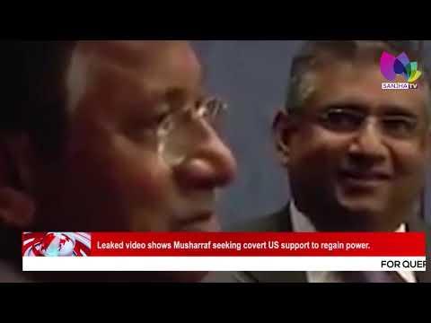 Leaked video shows Musharraf seeking covert US support to regain power