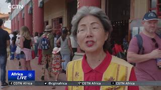 Chinese community in South Africa celebrate the