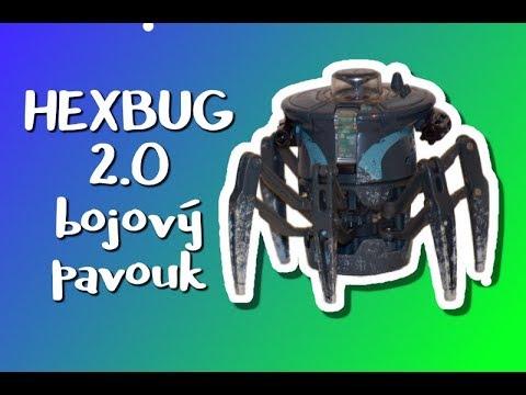 Video v článku Recenze: Bojový pavouk HexBug 2.0