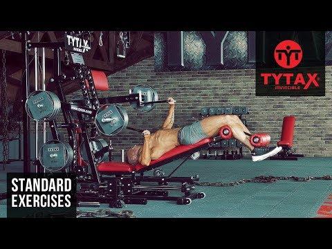 Lever Alternating Decline Bench Press | TYTAX® M2