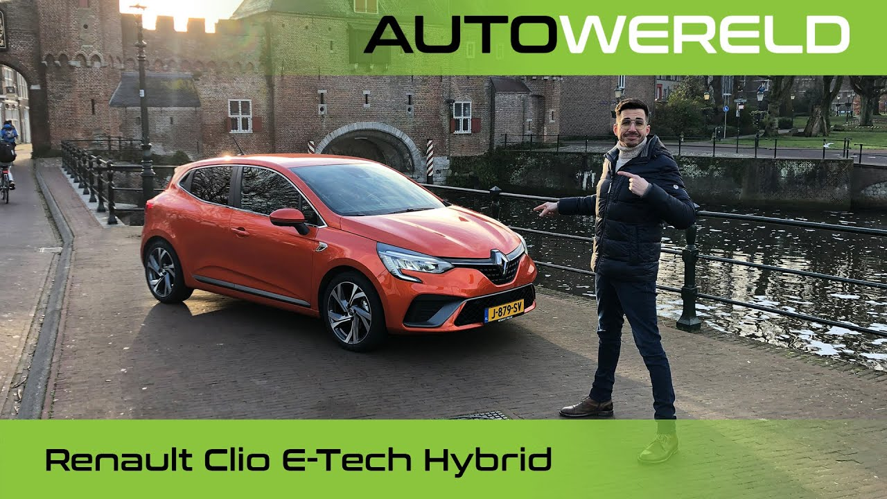 Renault Clio E-Tech Hybrid (2021) review met Andreas Pol